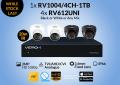 4x RV612UNI -1x RV1004/4CH-1TB