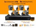 1x SR8008N/2TB - 8x SRDN2FW/G