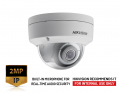 DS-2CD2123G0-IU- (2.8mm) - 2MP WDR Fixed Dome Network Camera with Build-in Mic