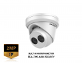 DS-2CD2323G0-IU-2.8MM - 2MP WDR Fixed Turret Network Camera with Build-in Mic