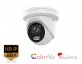 DS-2CD2347G2-LU (2.8mm) - 4MP ColorVu AcuSense Turret Network Camera