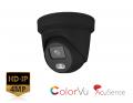 DS-2CD2347G2-LU/B (2.8mm) - 4MP Black ColorVu AcuSense Turret Network Camera