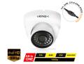 RV612UNI/W - VEROX 4 in 1 Vandal-proof Eyeball White Camera