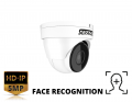 SRDNFACE - 5MP Fixed Metal IR Face Recognition Dome Camera