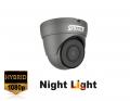 SRDT2FG - SERAGE 2 MP TVI 3.6mm Fixed Lens Grey Dome Camera