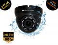 VT896TVI/B - VIDEOTEKNIKA 2MP TVI HD+ Eyeball Black Camera