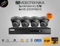 1x VN7604-K1/1TB - 4x VD-2355FWD/G