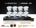 8x VD7674/2.8 & 1x VN2008P SYSTEM OFFER