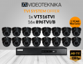 1X VT516TVI with 16X VT896TVI/B
