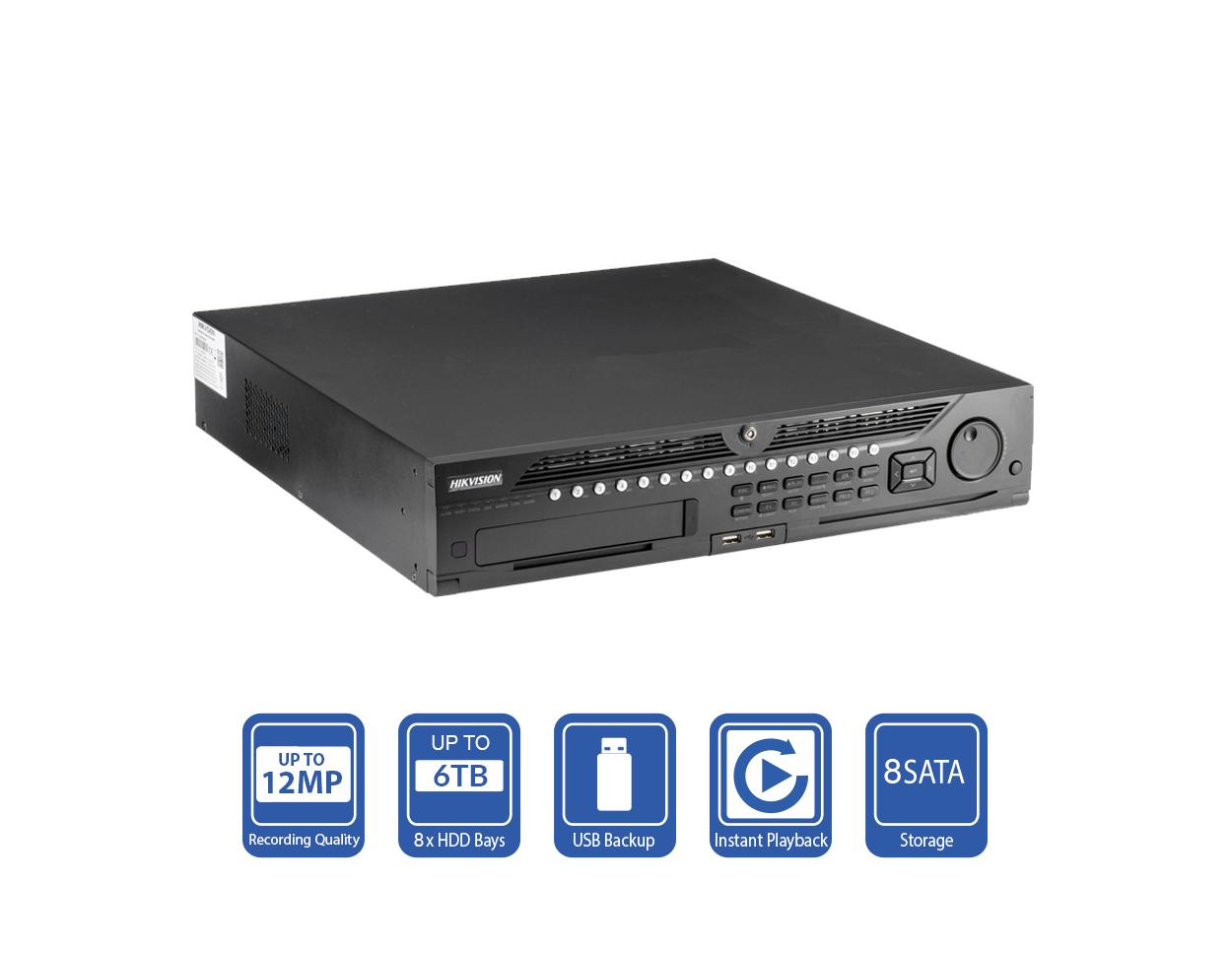 DS-9632NI-I8 - Hikvision 32 Channel NVR
